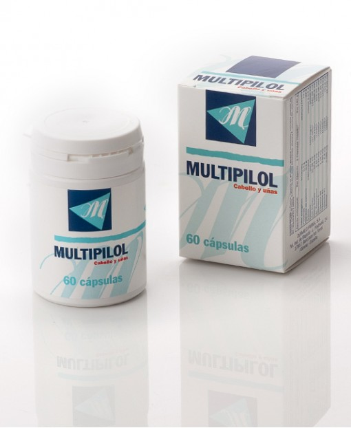 Multipipol Hair and Nails 60 Capsules
